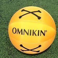 Ballon OMNIKIN® poison jaune